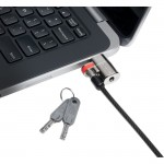 Kensington ClickSafe Keyed Lock for Dell Laptops and Tablets K67974WW