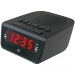GPX Clock Radio with Dual Alarm C224B