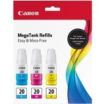 Canon CMY Ink Bottle Value Pack 3394C003