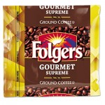 Folgers 2550006437 Coffee, Fraction Pack, Gourmet Supreme, 1.75oz, 42/Carton FOL06437