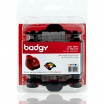 Badgy Color YMCKO Ribbon For 100 Prints VBDG204EU