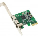 SYBA Multimedia Combo 2x 1394b + 1x 1394a Firewire Ports PCI-Express Controller Card, TI Chipset SY-PEX30016