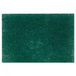 "Scotch-Brite PROFESSIONAL Commercial Heavy Duty Scouring Pad 86, 6"" x 9"", Green, 12/Pack, 3 Packs/Carton MMM86CT"