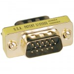 Tripp Lite Compact Gold Gender Changer P158-000