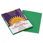 Sunworks Construction Paper, 58 lbs., 9 x 12, Holiday Green, 50 Sheets/Pack PAC8003