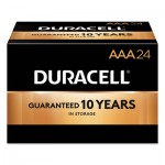 Duracell MN2400CT CopperTop Alkaline AAA Batteries, 144/Carton DURMN2400BKD