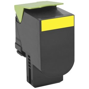 Lexmark CX 510 Yellow Extra High Yield Return Program Print Cartridge (4K) 80C0XYG