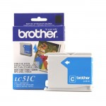 Brother Cyan Inkjet Cartridge For MFC-240C Multi-Function Printer LC51C