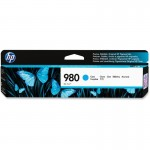 HP 980 Cyan Original Ink Cartridge D8J07A