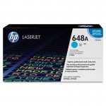 HP 648A Cyan Original LaserJet Toner Cartridge CE261A
