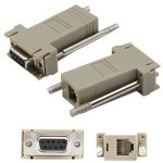 AddOn DB-9 Female to RJ-12 Male Adapter DB9F2RJ12M