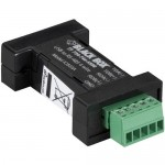 Black Box DB9 Mini Converter (USB to Serial), USB/RS-485 (4-wire, Terminal Block) IC833A