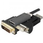 DisplayPort/HDMI Audio/Video Adapter BU989AV-AO-5PK