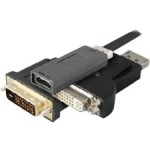 DisplayPort/HDMI Audio/Video Adapter QX591AV-AO-5PK