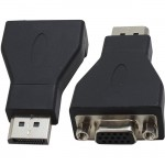 4XEM DisplayPort Male To VGA Female Adapter 4XDPMVGAFA