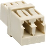 Tripp Lite Duplex Multimode Fiber Optic Coupler, LC/LC N455-000-PM