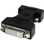 StarTech DVI to VGA Cable Adapter - Black - F/M DVIVGAFMBK