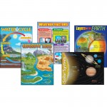 TREND Earth Science Learning Charts Combo Pack 38929