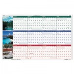 House of Doolittle Earthscapes Nature Scene Reversible/Erasable Yearly Wall Calendar, 24 x 37, 2016 HOD393