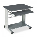 Mayline 945ANT Empire Mobile PC Cart, 29-3/4w x 23-1/2d x 29-3/4h, Anthracite MLN945ANT