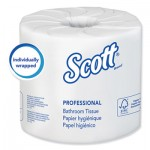 Scott Essential 100% Recycled Fiber SRB Bathroom Tissue, 2-Ply, 506 Sheets/Roll, 80/CT KCC13217