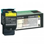 Lexmark Extra High Yield Return Program Toner Cartridge (Yellow) C544X4YG