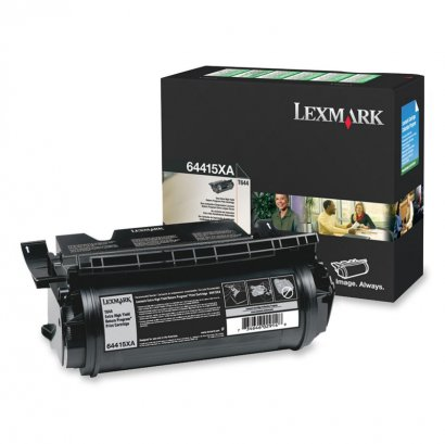 Lexmark Extra High Yield Return Program Toner Cartridge 64415XA