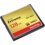 SanDisk Extreme CompactFlash Card 120MB/s - 128GB SDCFXS-128G-A46