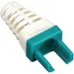 Black Box EZ-RJ45 CAT6 Strain-Relief Boot, 25-Pack, Green C6EZ-BOOT-GN
