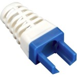 Black Box EZ-RJ45 CAT6 Strain-Relief Boot, 25-Pack, Blue C6EZ-BOOT-BL
