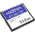 AddOn Factory Approved 512MB CF Card F/Cisco ASA5500-CF-512MB-AO