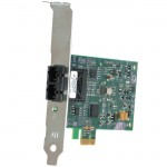 Allied Telesis Fast Ethernet Fiber Network Interface Card with PCI-Express AT-2711FX/LC-901