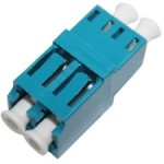 Female LC/ to Female LC/ MMF OM3 Duplex Fiber Optic Adapter ADD-ADPT-LCFLCF3-MD