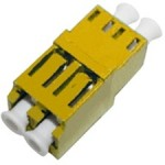 Female LC/ to Female LC/ MMF Duplex Fiber Optic Adapter ADD-ADPT-LCFLCF-MD