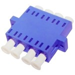 Female LC/ to Female LC/ SMF Quad Fiber Optic Adapter ADD-ADPT-LCFLCF-SMQ
