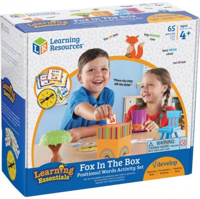 Learning Resources Fox In The Box Word Activity Set LER3201