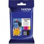Brother Genuine 3 Pack Super High Yield Color Ink Cartridges LC30193PK