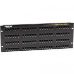 GigaTrue CAT6 Patch Panel with Universal Wiring, 96-Port, 4U JPM614A-R7