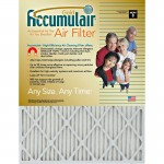 Accumulair Gold Air Filter FB25X254