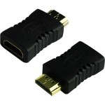 4XEM HDMI A Male To HDMI A Female Adapter 4XHDMIMF