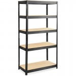 Heavy-duty Boltless Steel Shelving Unit 6245BL