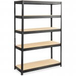 Heavy-duty Boltless Steel Shelving Unit 6246BL