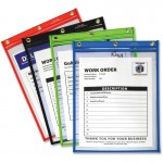 Heavy Duty Super Heavyweight Plus Stitched Shop Ticket Holder, Assorted, 9x12, 20/BX 50920