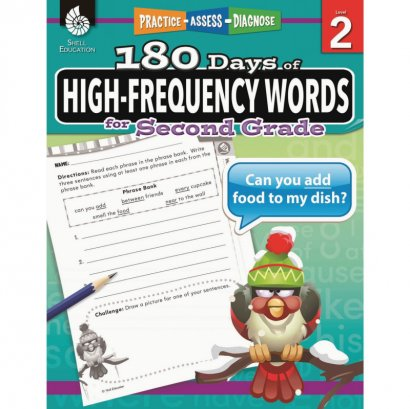 Shell High-Frequency Words for Grade 2 51635