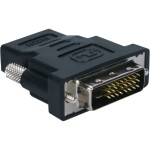 QVS High Speed HDMI Female to DVI Male Adaptor HDVI-FM