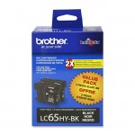 Brother High Yield Black Ink Cartridge LC652PKS