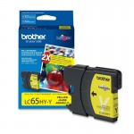 Brother High Yield Yellow Ink Cartridge LC65HYY