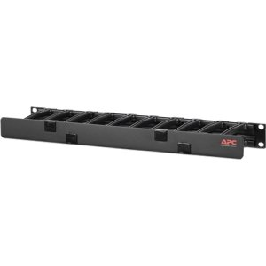 "APC Horizontal Cable Manager, 1U x 4"" Deep, Single-Sided with Cover AR8602A"