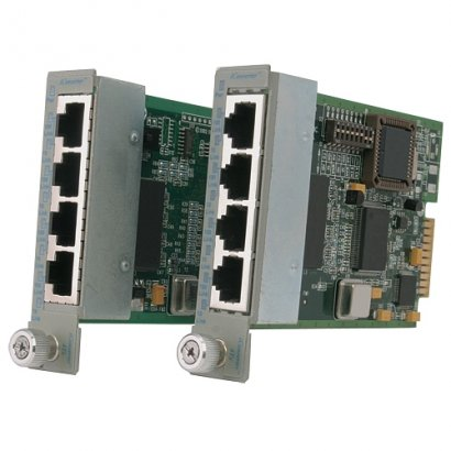 Omnitron Systems 4Tx VT iConverter Fast Ethernet Managed Switching Module 8481-4-W