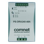 ComNet Industrial DIN Rail Mounting 240 Watt @ 48 Volt Power Supply PS-DRA240-48A